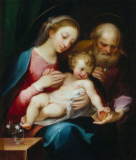 Francesco Vanni: Die heilige Familie