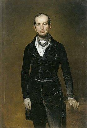 Ferdinand von Rayski: Bildnis des Kammerherrn Julius Graf Zech-Burkersroda