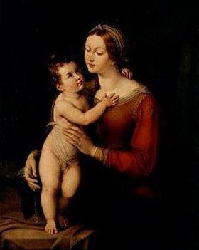 Marie E. Freifrau von Freyberg: Maria mit Kind