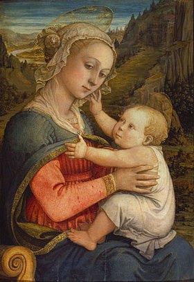 Fra Filippo Lippi: Maria mit dem Kinde
