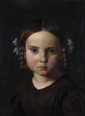 Eduard Jakob von Steinle: Bildnis der Karoline von Steinle als Kind