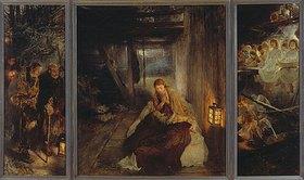 Fritz von Uhde: Die heilige Nacht (Triptychon)