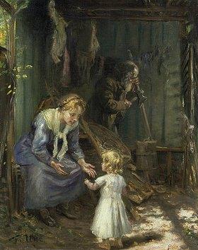 Fritz von Uhde: Die heilige Familie in der Werkstatt