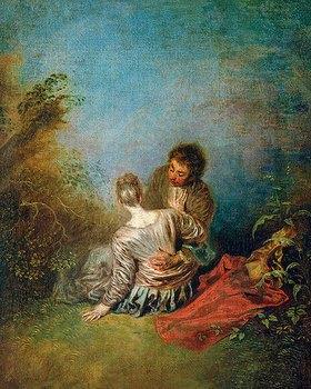 Jean Antoine Watteau: Der Faux Pas
