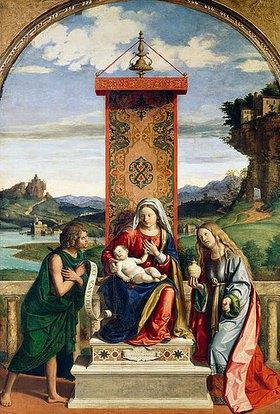 Cima da Conegliano: Die Madonna mit den hll. Johannes d. Täufer und Maria-Magdalena