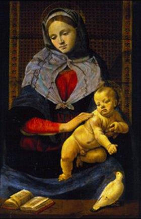 Piero di Cosimo: Die Madonna mit der Taube