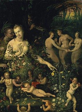Schule von Fontainebleau: Die Toilette der Venus