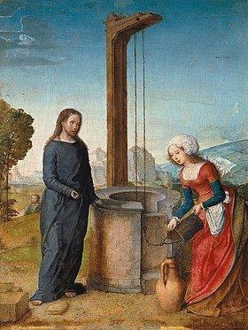 Johann von Flandern: Christus und die Samariterin am Brunnen