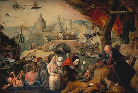 Pieter Huys: Die Versuchung des hl.Antonius