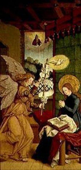 Meister von Messkirch: Verkündigung Mariae
