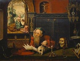 Jan Massys: Der hl.Hieronymus in Meditation