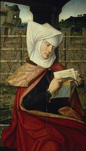 Jan Provost: Die heilige Emerenzia, Mutter der heiligen Anna