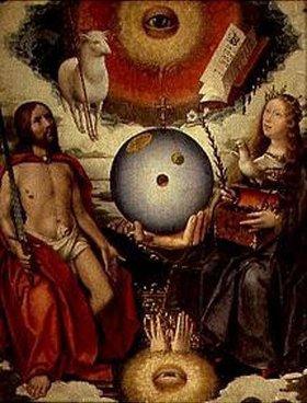 Jan Provost: Christliche Allegorie