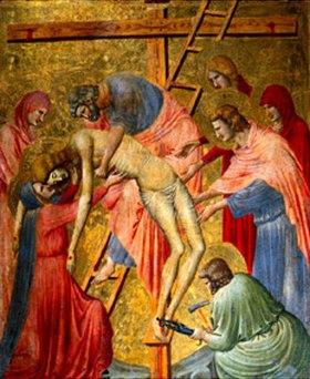 Pietro da Rimini: Die Kreuzabnahme
