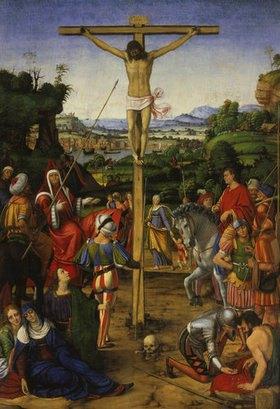 Andrea de Solario: Die Kreuzigung Christi
