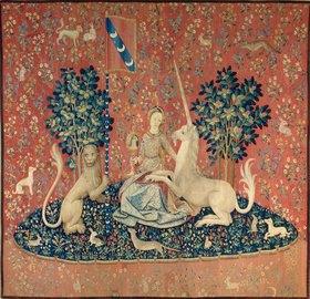 Französisch: Die Dame mit dem Einhorn. Zwischen 1484 und