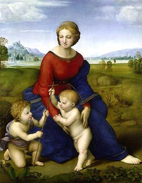 Raffael (Raffaello Sanzio): Die Madonna im Grünen