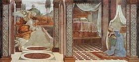 Sandro Botticelli: Die Verkündigung Mariae von San Martino