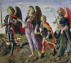 Francesco Botticini: Tobias und die drei Engel