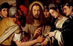 Johannes Fischer: Christus und die Ehebrecherin