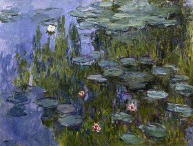 Claude Monet: Seerosen (Nympheas)