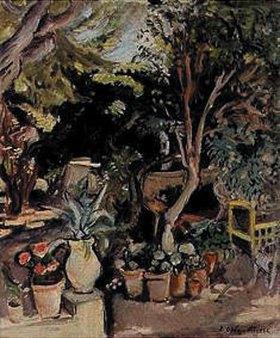 Emile Othon Friesz: Garten