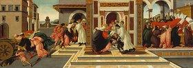 Sandro Botticelli: Vier Szenen aus d.Leben des Hl. Zenobius