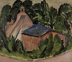 Ernst Ludwig Kirchner: Guter Staberhof, Fehmarn