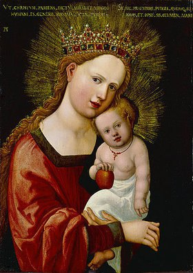 Albrecht Altdorfer: Maria mit dem Kinde