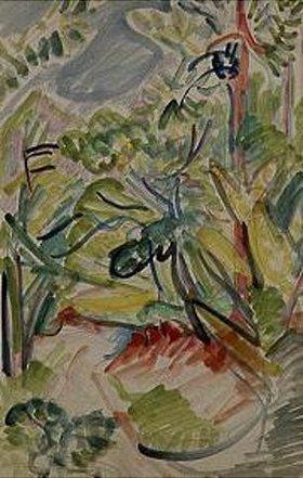 Ernst Ludwig Kirchner: Waldweg bei Königstein