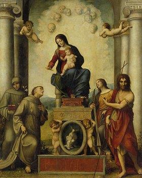 Correggio (Antonio Allegri): Die Madonna des hl.Franziskus