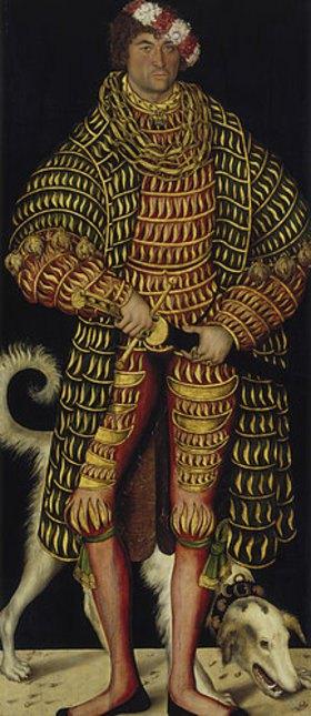 Lucas Cranach d.Ä.: Bildnis Herzog Heinrichs des Frommen