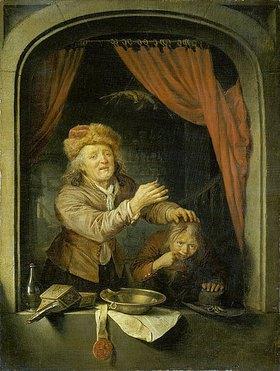 Gerrit (Gerard) Dou: Der Zahnarzt