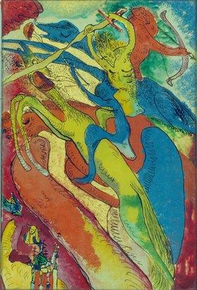 Wassily Kandinsky: Apokalyptische Reiter I
