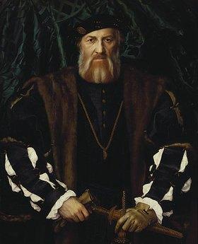 Hans Holbein d.J.: Charles de Solier, Sieur de Morette, Bildnis