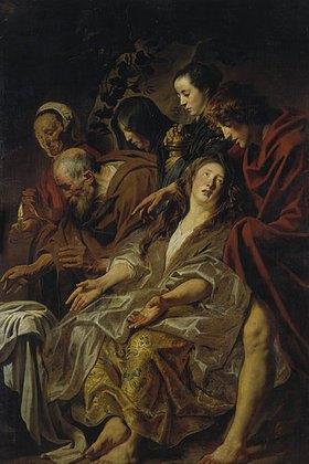 Jacob Jordaens: Die Angehörigen Christi am Grabe