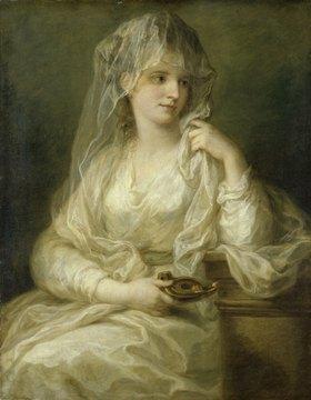 Angelika Kauffmann: Bildnis einer Dame als Vestalin