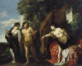 Johann Liss (Lys): Herkules am Scheidewege
