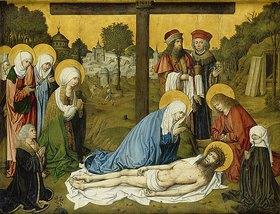 Meister des Hausbuches: Die Beweinung Christi. Nach