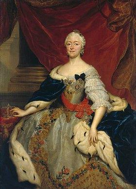 Anton Raphael Mengs: Kurfürstin Maria Antonia, Gemahlin des Kurfürsten Friedrich Christian