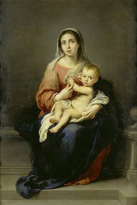 Bartolomé Estéban Murillo: Maria mit dem Kind