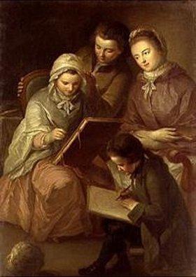 Adam Friedrich Oeser: Die Kinder des Malers