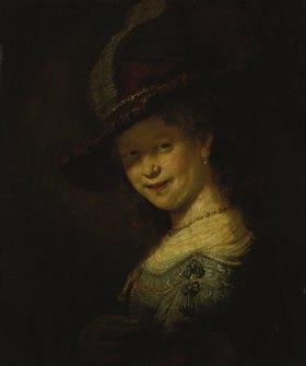 Rembrandt van Rijn: Saskia von Uylenburgh als Mädchen