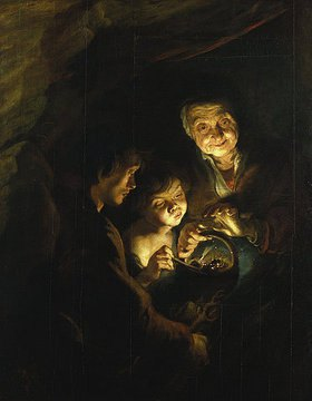 Peter Paul Rubens: Die Alte mit dem Kohlenbecken