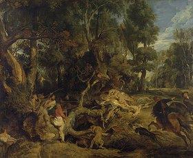 Peter Paul Rubens: Die Wildschweinjagd