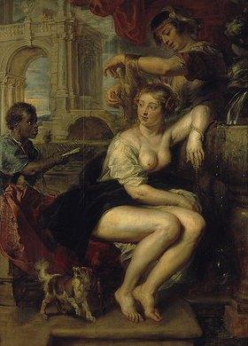 Peter Paul Rubens: Bathseba am Springbrunnen, den Brief Davids erhaltend