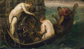 Tintoretto (Jacopo Robusti): Die Rettung der Arsinoë. Nach
