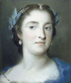 Rosalba Carriera: Die Sängerin Faustina Hasse-Bordoni. Gegen