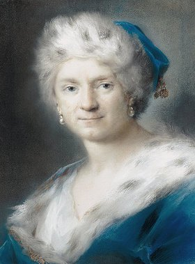 Rosalba Carriera: Selbstbildnis als Winter
