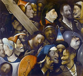 Hieronymus Bosch: Die Kreuztragung Christi